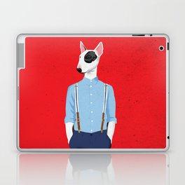 Skinhead Bull Terrier Laptop & iPad Skin
