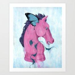"""Knightfall"" Art Print"