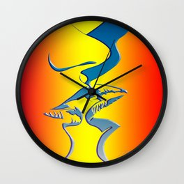 First Time Wall Clock