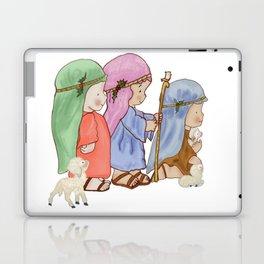 The three kings nativity Laptop & iPad Skin