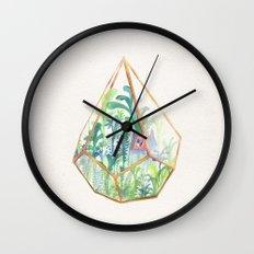 Terrarium II Wall Clock