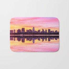Sunrise in Boston Bath Mat