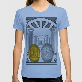 Necropolis Coins Gold and Silver 1 T-shirt