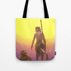 Rey Awakens Tote Bag
