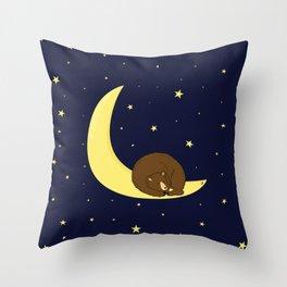 Sweet bear dreams Throw Pillow