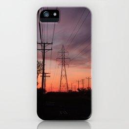 Lavallois Sunset - I iPhone Case