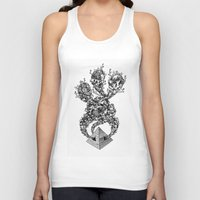 pyramid Tank Tops featuring Pyramid by Vera Moire