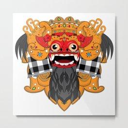 Barong Bali creatures Metal Print