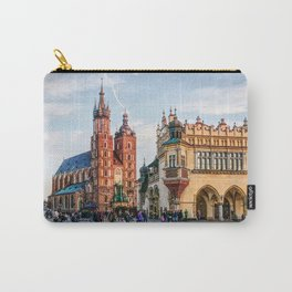 Cracow Main Square art Carry-All Pouch