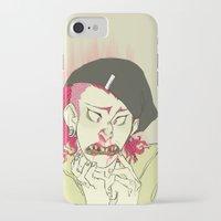 dangan ronpa iPhone & iPod Cases featuring souda pop by Cori Walters