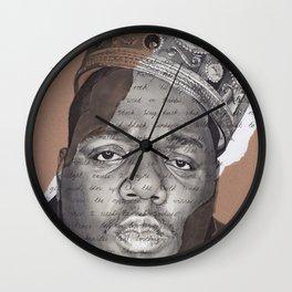 The Notorious BIG Wall Clock