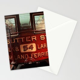 S.F. Cable Car Stationery Cards