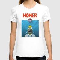 homer T-shirts featuring HOMER by BC Arts