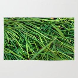 Organic Plant Blades Rug