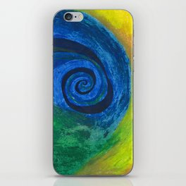 Abstract Poetic iPhone Skin