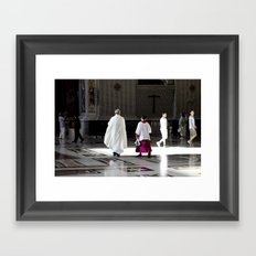 Vatican Rome Framed Art Print