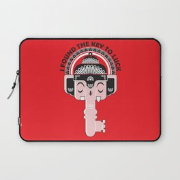 KEY to LUCK Laptop Sleeve