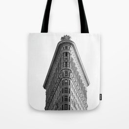 Flatiron Black and White NYC Tote Bag