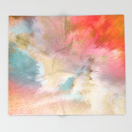 Magic Sky - Geo Candy Throw Blanket