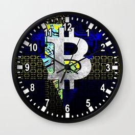 bitcoin sweden Wall Clock