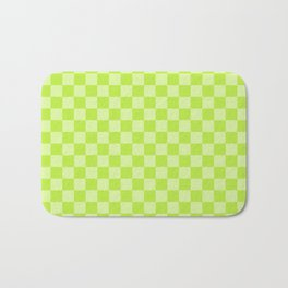 Citrus Checkerboard Bath Mat