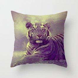 Tiger II Throw Pillow