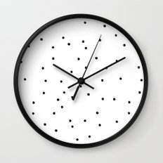Polka Dotty Wall Clock