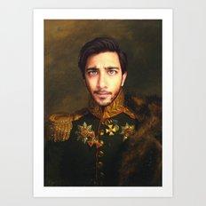 His Infernal Majesty Art Print