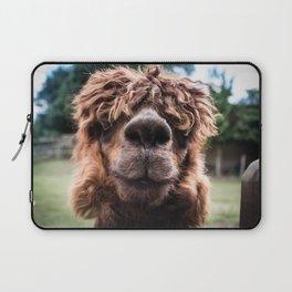 Curious Llama Laptop Sleeve