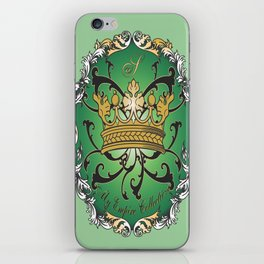 My Empire Collection Summer Set mint green Crown iPhone Skin
