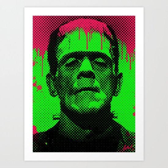 drippy Frank Art Print