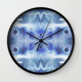 Kaleidoscope Bl Wall Clock