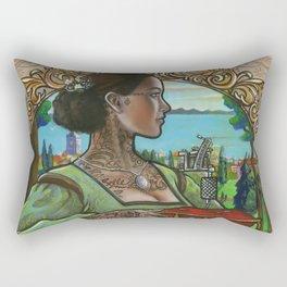 Evian Rectangular Pillow