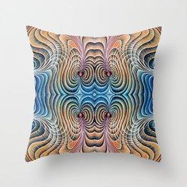 Cardiac Magnetosphere Throw Pillow