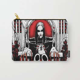 Bloody Mary on the Throne Carry-All Pouch