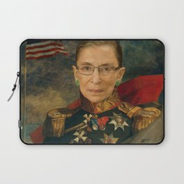 Justice Ruth Bader Ginsburg Classical Regal General Painting Laptop Sleeve