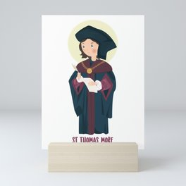 Saint Thomas More Mini Art Print