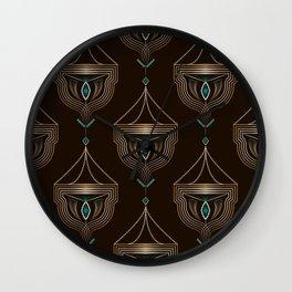 Art Deco No. 4 Wall Clock