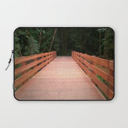 Red Cedar Hiking Bridge Laptop Sleeve