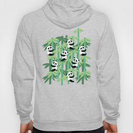 Panda's society Hoody