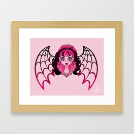 Ghouls Rule Draculaura Framed Art Print