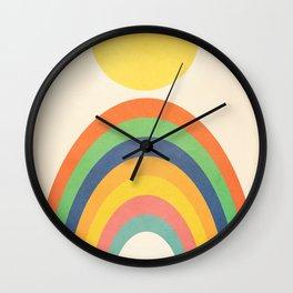 Sunlight Retro III Wall Clock