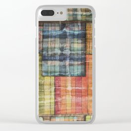 Abstract windows Clear iPhone Case
