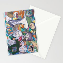 2's My Favorite 1 Stationery Cards