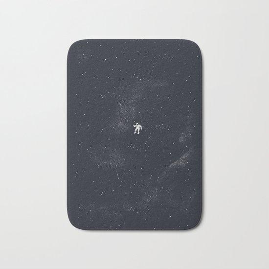 Gravity - Dark Blue Bath Mat