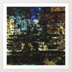MOTOS Art Print