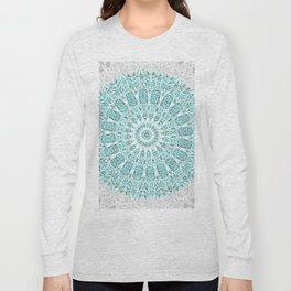A Glittering Mandala Long Sleeve T-shirt