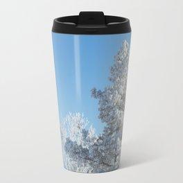 Frosted Tree Travel Mug