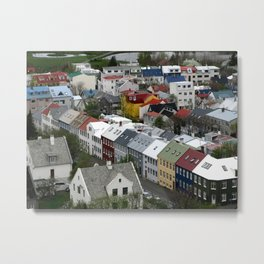 Reykjavik, Sweet. Metal Print