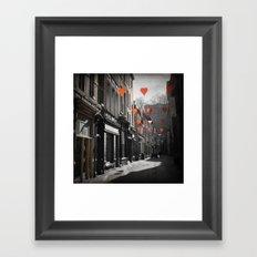 Valentine's Day, Namur, Belgium Framed Art Print